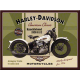 Magnet 8 x 6 cm Harley-Davidson Knucklehead