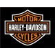 Magnet 8 x 6 cm Harley-Davidson Logo