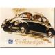 Magnet 8 x 6 cm VW Volkswagen Coccinelle