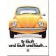 Magnet 8 x 6 cm VW Volkswagen Coccinelle jaune