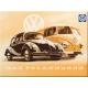 Magnet 8 x 6 cm VW Volkswagen Coccinelle et Bus Bulli