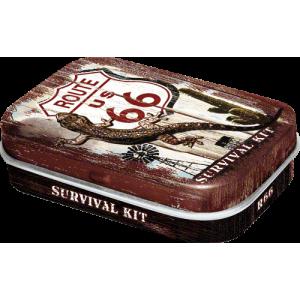 Boîte à pilules Route 66 Survival Kit