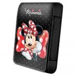 Housse téléphone portable à rabat Disney Minnie pois et gros noeud
