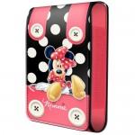 Housse téléphone portable à rabat Minnie boutons